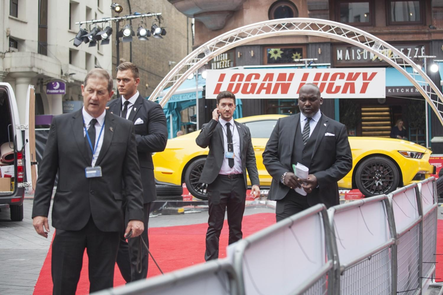 London, UK - 21 of August 2017 The premiere for Logan Lucky will take place on Monday 21 August at VUE West End Cinema.