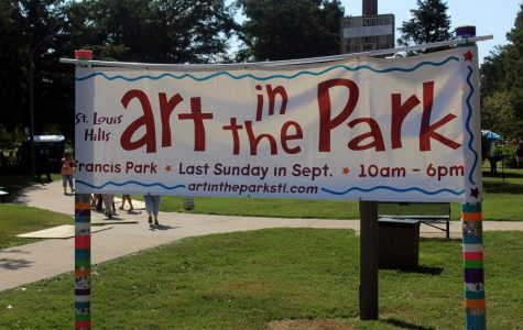 Art in the Park was held in Francis Park. Francis Park is located between Eichlenberger Street and St. Donovan Avenue in the Saint Louis Hills. The event took place between 10 a.m. and 6 p.m.. This year the event featured 30 new artists and eight food vendors.