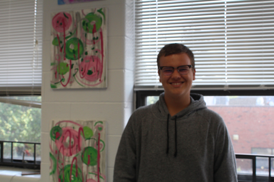 Balazs Olah is one of FHN's three foreign exchange students this year. They are adjusting to the American lifestyle.