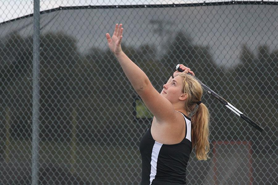9-13 Girls Tennis vs FZS [Photo Gallery]