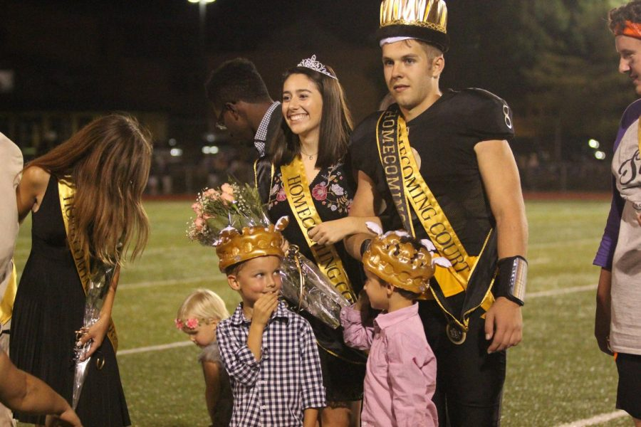 On Sept. 22, seniors Connor Gallagher and Jamie Sneed were announced as King and Queen of Homecoming.