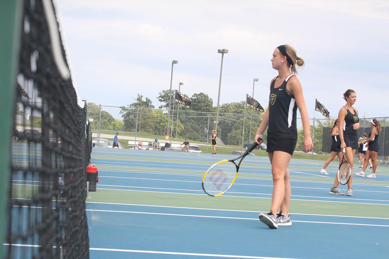 Varsity girls shine in one-sided matches