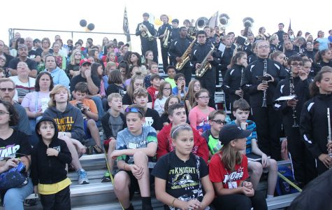 FHN Marching Band Hosts a Middle School Band Night