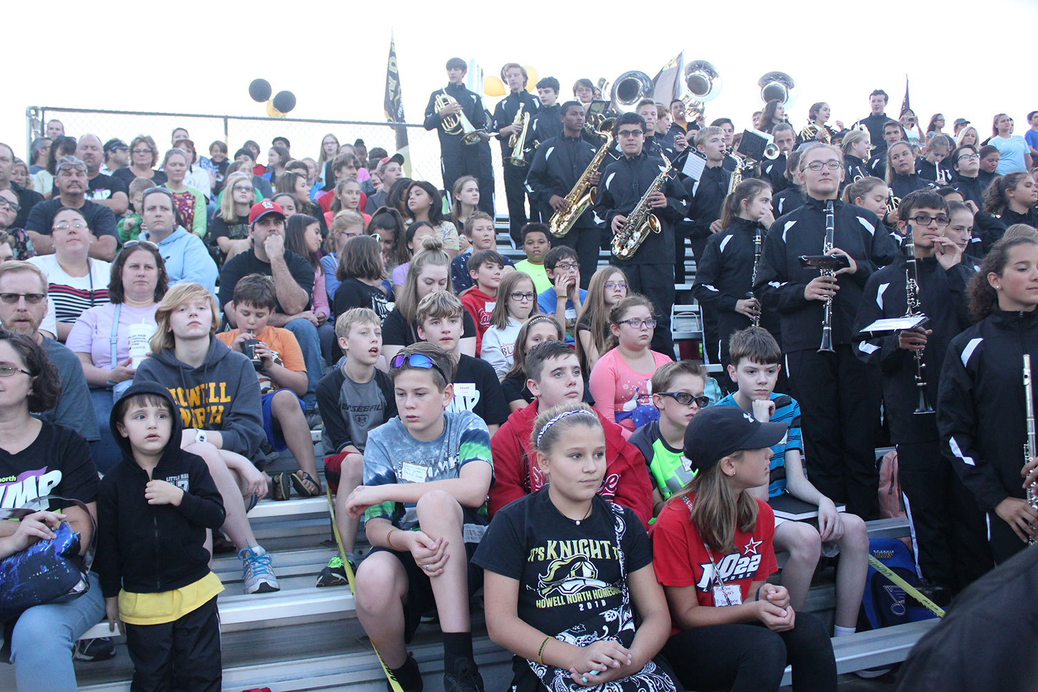 Middle+school+students+from+Barnwell+and+Hollenbeck+Middle+School+joined+FHN%27s+Marching+Band+at+the+football+game+against+FZW+on+Sept.+8.