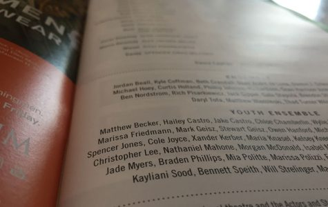 The program for the Muny's production of