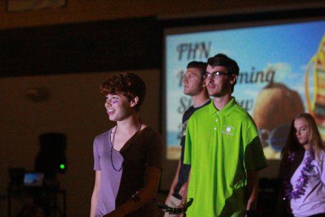 FHN Homecoming Pep Assembly: Parade of Athletes