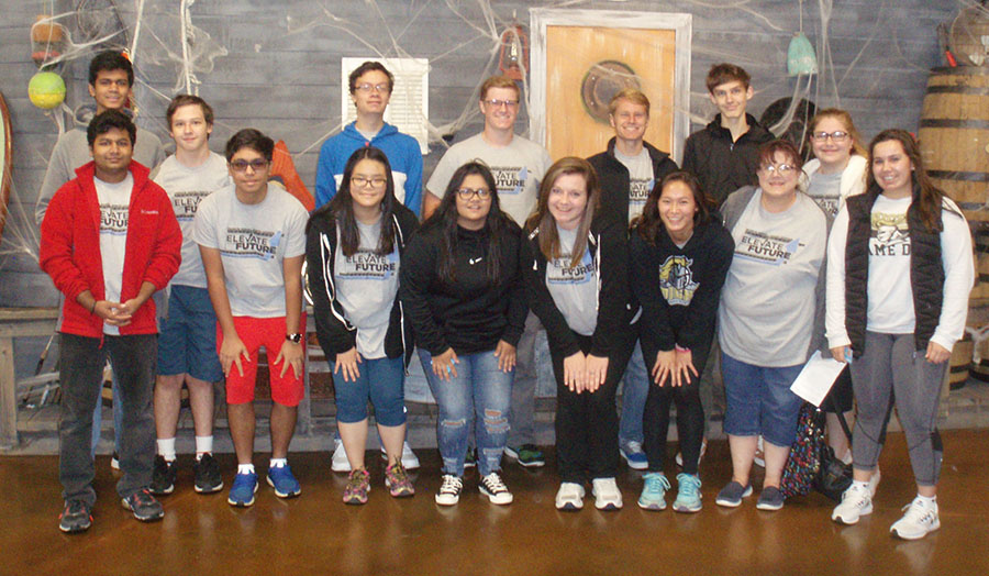 15 FBLA members attended an FBLA sponsored leadership conference on Oct. 24 at Kokomo Joe's.