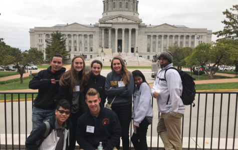 HOSA Cabinet Members Attend Fall Conference in Jefferson City