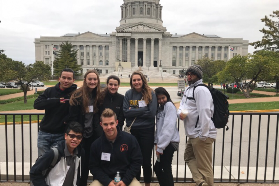 FHN HOSA officers attended a HOSA Fall Conference in Jefferson City on  October 26 and 27. (photo submitted)