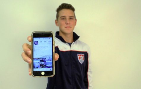 Sophomore Caleb Helmick Runs Instagram Account with over 14,000 Followers
