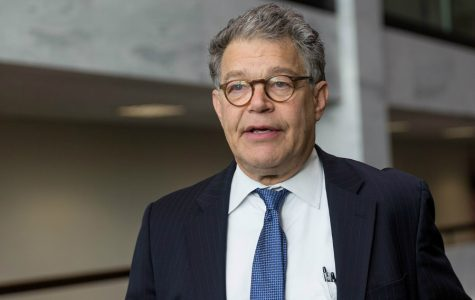 Senator Al Franken speaking at the Hart Building, Washington DC. Photo by Lorie Shaull. (Used with Creative Commons)