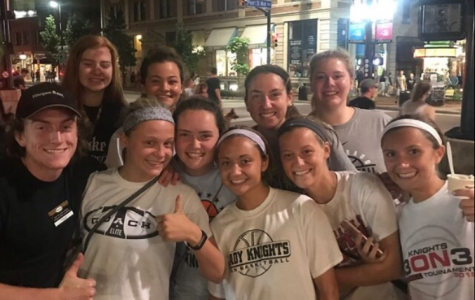 The Lady Knights' Basketball Team Traveled to Colorado Last Summer