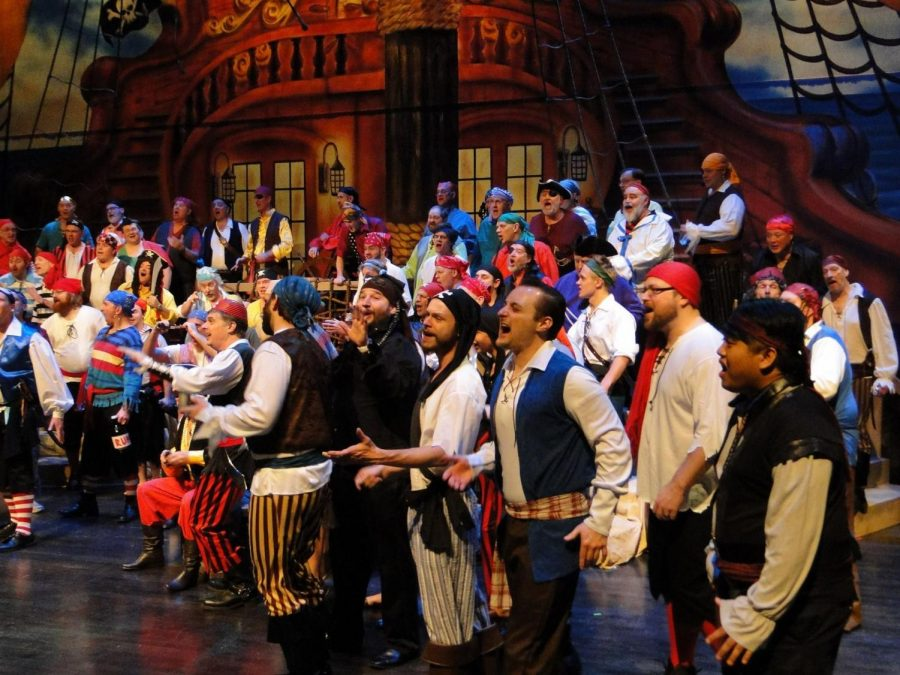 6. Pirates Steal the Show at the Ambassadors of Harmony Winter Concert