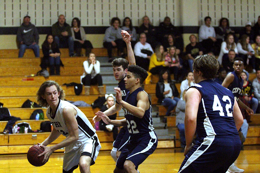 The Knights were defeated by the FHC Spartans on Dec. 15 by five points.