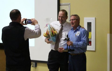Maintenance Man Stan Robertson Recognized with Support Staff of the Year Award