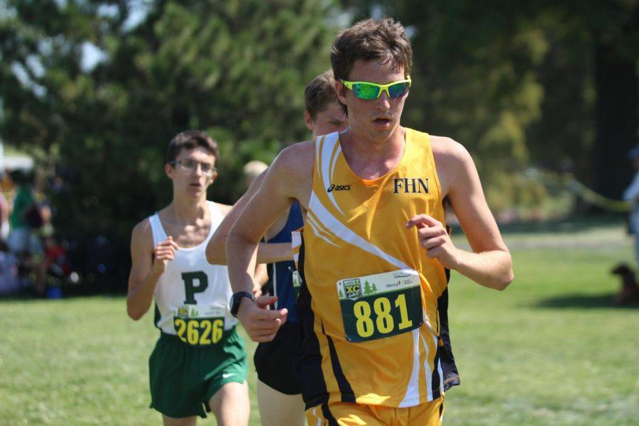Joel Boenitz enjoys spending time running.