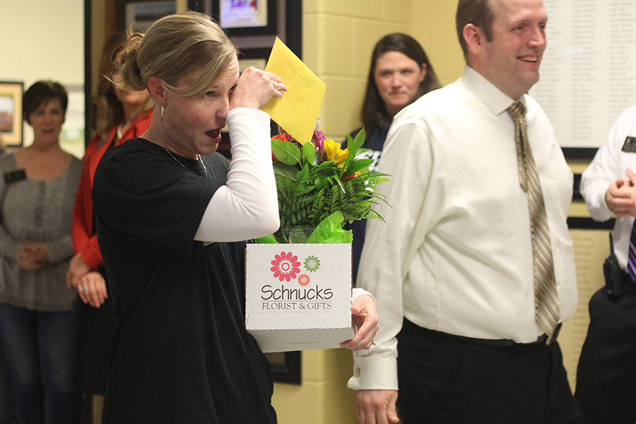 1. Shelly Parks is Awarded FHSD Teacher of the Year