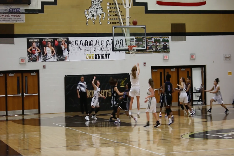 The JV girls basketball team takes on Francis Howell on 2/9 in the Howell North gym.