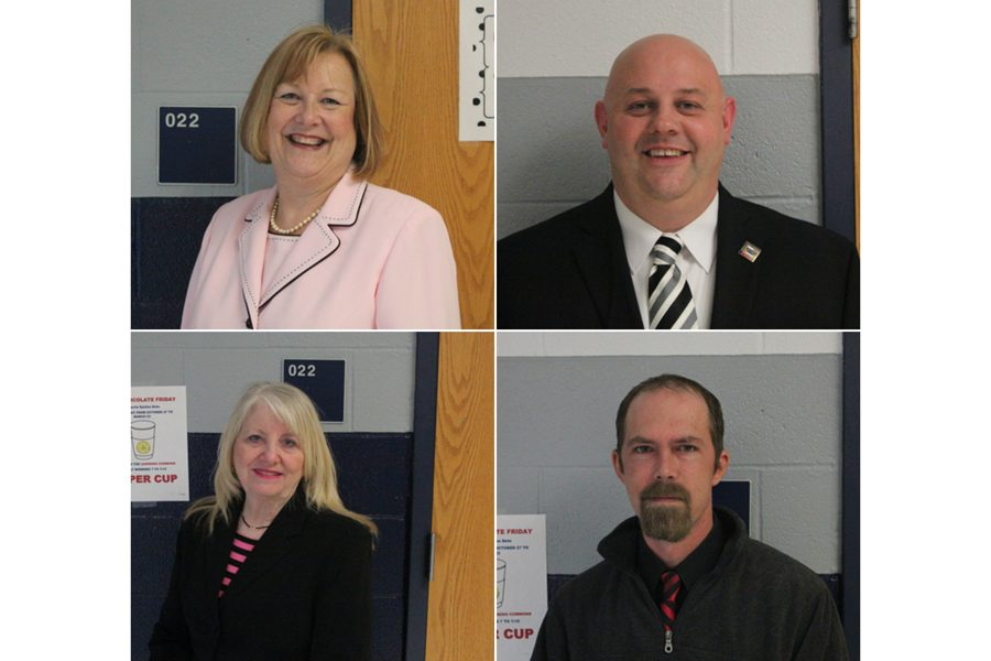 In a local election on April 3, these four candidates will run to fill the two opening spots on the Board of Education. Read below to find out who they are, why they are running and ideas they have for the district.