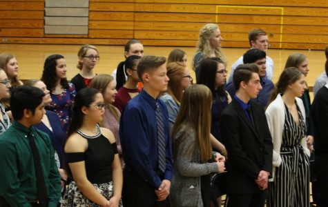 Class of 2020 Inducted as NHS Members