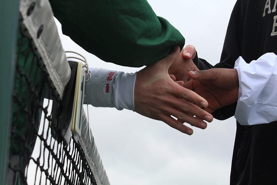 Boys+Tennis+Starts+their+Season+Hand+In+Hand+and+with+High+Hopes
