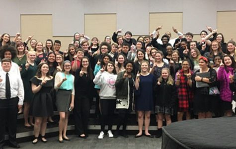 Choirs Receive Ones During Large Ensemble Contest