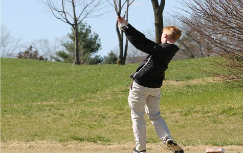 Senior Drew Brissette Joins Golf Team in his Final Year at North