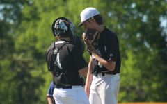 Senior Pitcher Ethan Faltisek Comes Back to Baseball After Being Injured