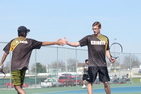Boys Tennis Hopes to be a Racket this Season