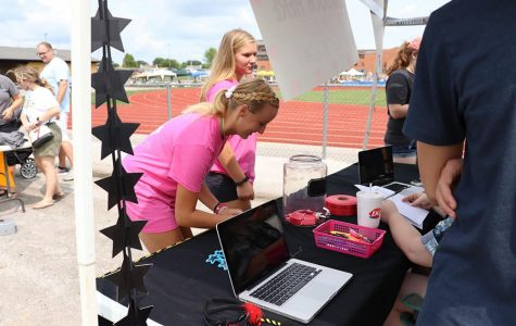 FHN students enter into a raffle for two Taylor Swift Tickets. If students bought their yearbook before Black and Gold Day they could enter five tickets, with additional entries for following FHNtoday on social media.