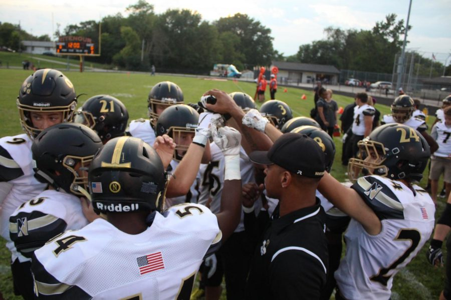 8-31 Varsity Football vs. Ritenour [Photo Gallery]
