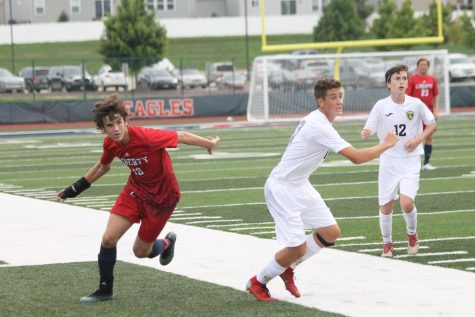 Underclassmen Are Called Up to Play on the Varsity Boys Soccer Team
