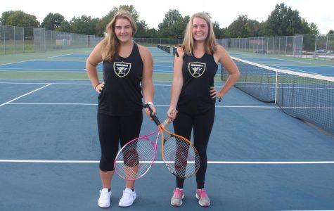 Doubles Partners Olivia Fetsch and Bella Scheinder go Undefeated in 2018-2019 Season