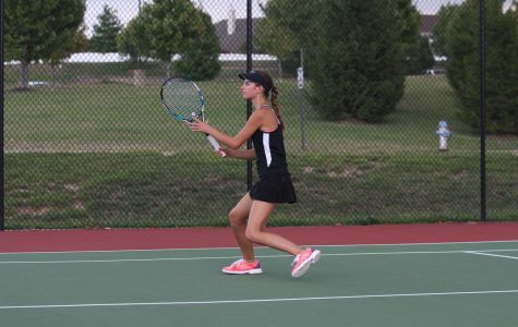 Senior Katie Prinkey recaps her match against Fort Zumwalt West