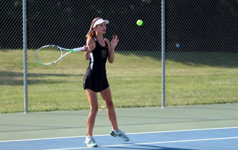 9-11 Girls Tennis vs Holt [Photo Gallery]
