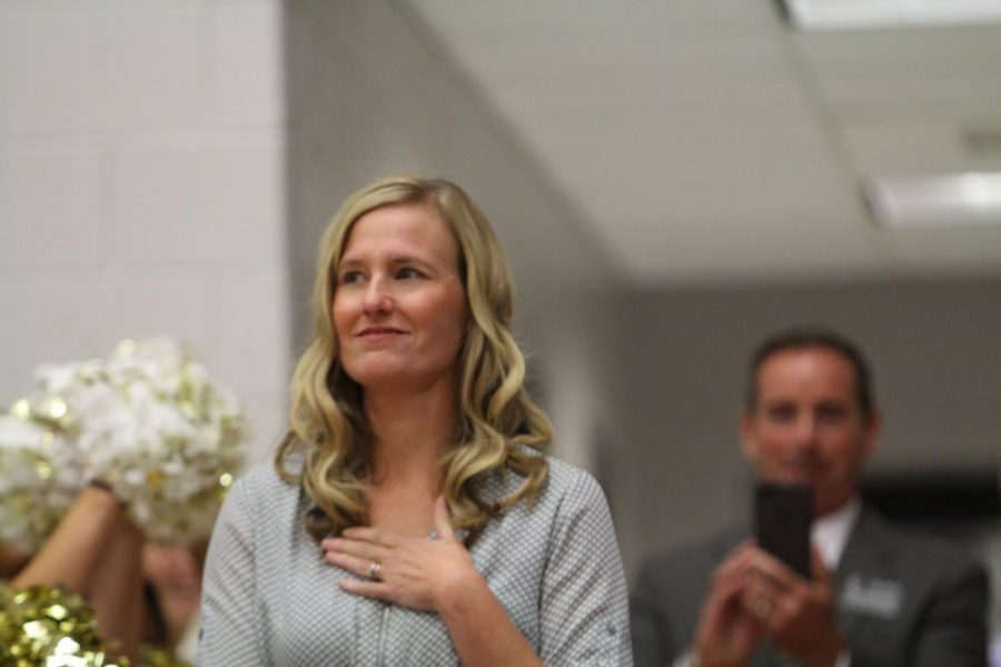 On Aug. 28, English teacher Shelly Parks was announced as the Missouri State Teacher of the Year. Now, after receiving this award, Parks has toured around Missouri, giving speeches and serving on different committees.