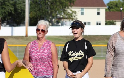 10-2 Varsity Softball Senior Night [Photo Gallery]