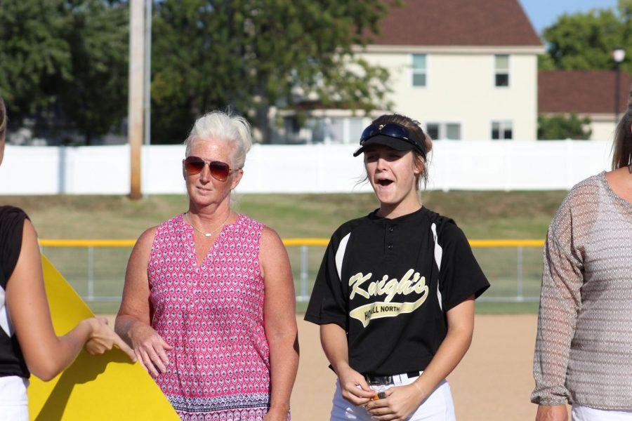 10-2 Varsity Softball Senior Night [Photo Gallery]