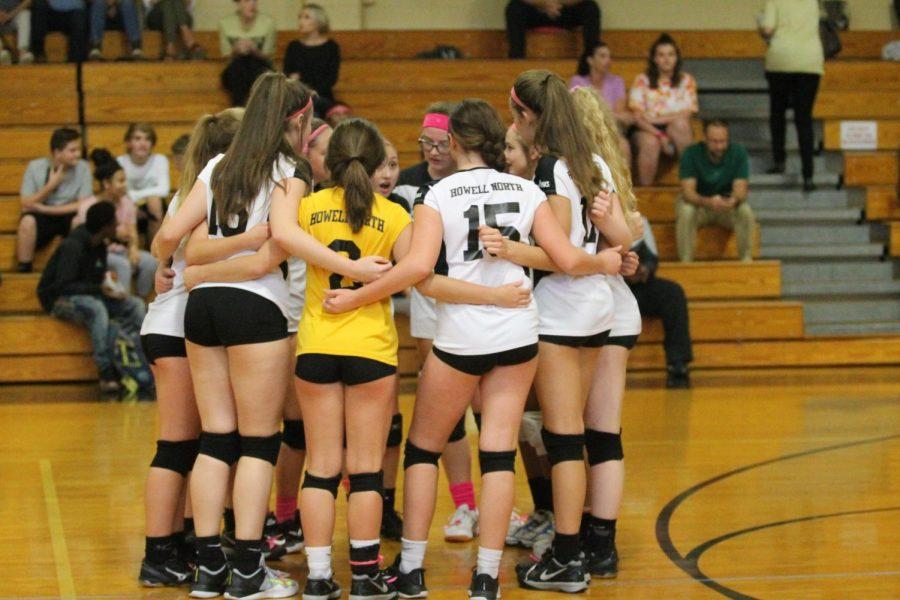10-9 Freshmen Girls Volleyball vs. Howell [Photo Gallery]