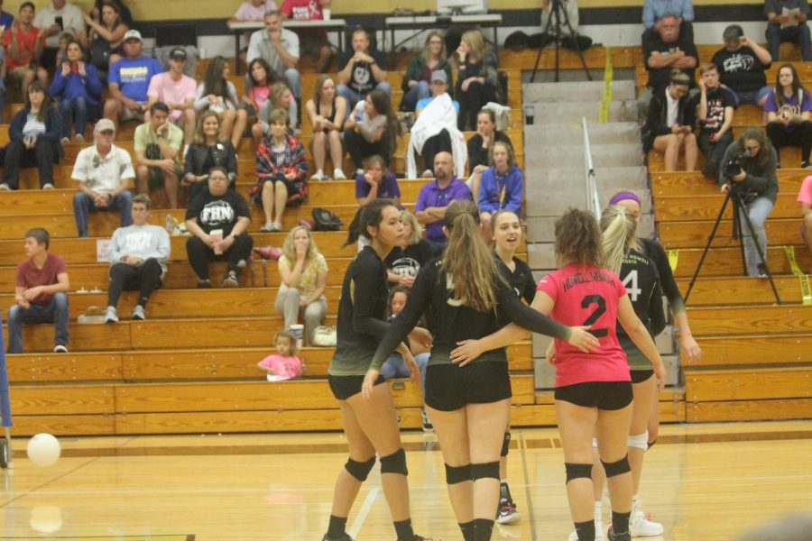 10-9 Girls Varsity Volleyball vs FHHS [Photo Gallery]