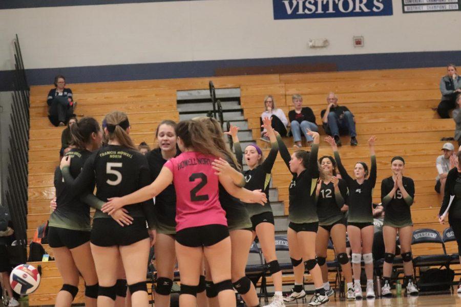 10-23 Varsity Girls Volleyball vs St. Dominic [Photo Gallery]