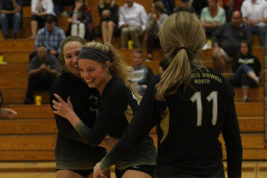 Varsity Girls Volleyball vs. St. Charles 10-18 Senior Night [Live Broadcast]