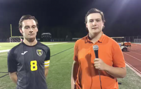 Senior Adam Shine Describes his Game Winning Goal During Senior Night vs. Troy-Buchanan [Facebook Live]