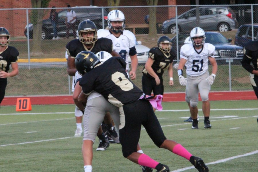 10-1 JV Football vs FHC [Photo Gallery]