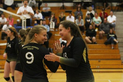 Varsity Girls Volleyball vs. Francis Howell 10/9 [Live Broadcast]