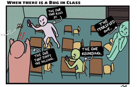 When There is a Bug in Class [Comic]