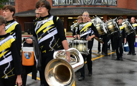 Senior Ben Mossinghoff Makes Metro 8 Band for Second Straight Year