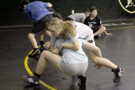 Girls' Wrestling Prepares for First Season at FHN
