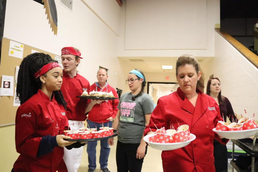 FHN Culinary Seniors Win Iron Chef Competition