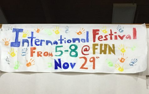 On Nov. 29, FHN will be hosting its first International Festival. The festival will have performances by different groups and aims to celebrate different cultures.